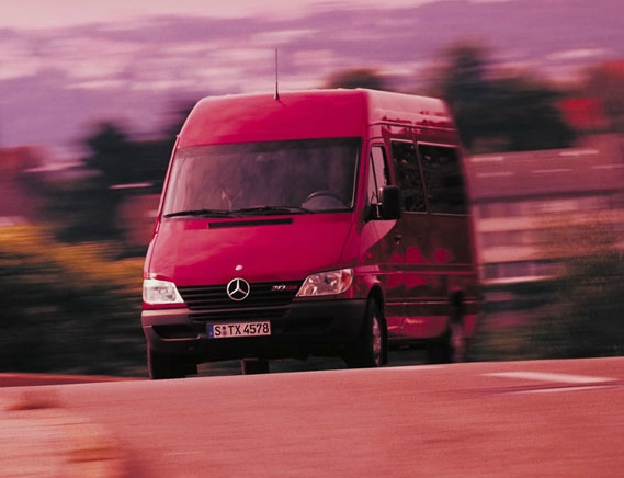 Презентация Mercedes-Benz Sprinter