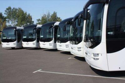 Поездки на автобусах.