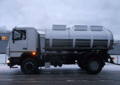 Пищевые автоцистерны и танк-контейнеры: основные отличия