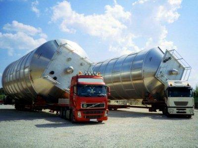 Автомобильные перевозки габаритных и негабаритных грузов компанией Транспромстрой